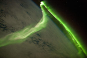 The Aurora Australis. From space.