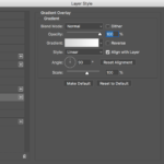 The Gradient Overlay Dialog