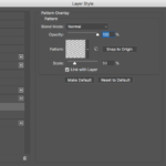 The Pattern Overlay Dialog
