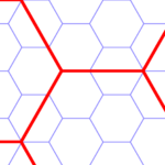An Example of Dual-Colored Grids