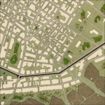 A Section of a City Map