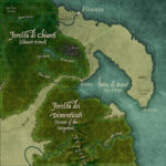 A Section of an Island Map