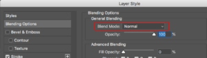 Blend Mode in the Layers Pane