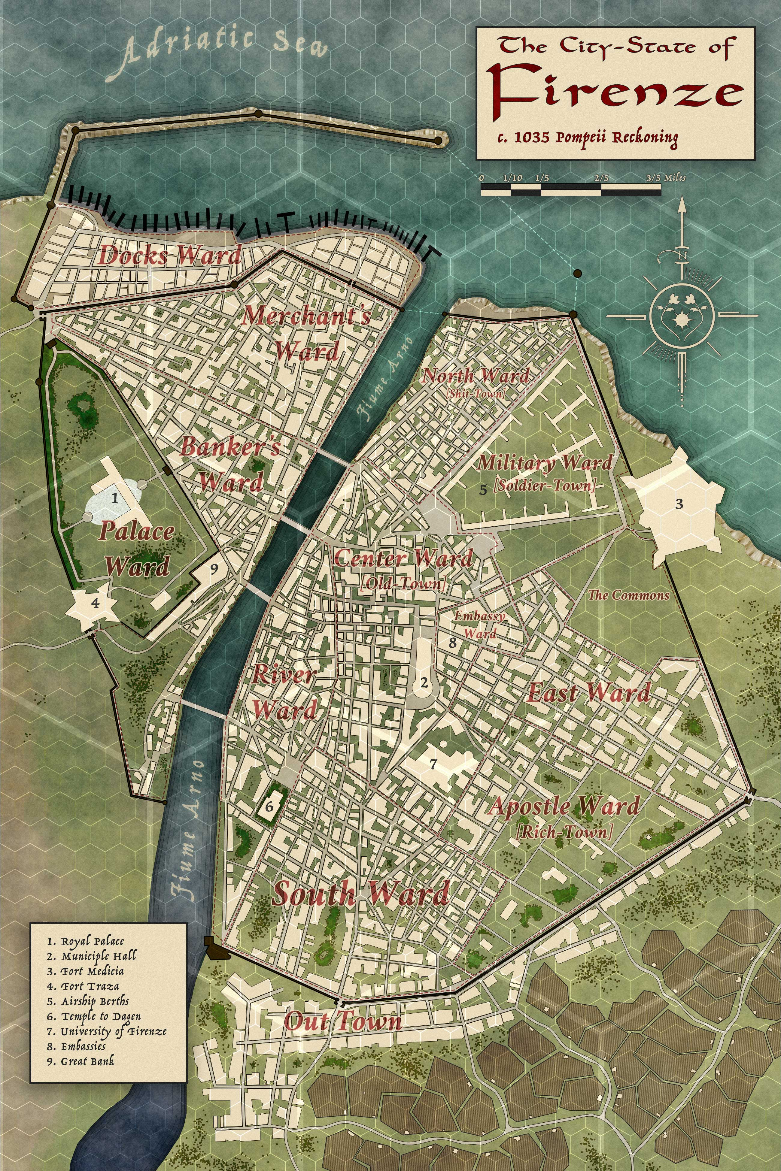 Designing Maps for Roleplaying Games – gaijin.com on